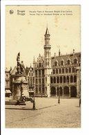 CPA - Cartes Postales - BELGIQUE Brugge - Nouvelle Poste Et Monument Breydel -  S3907 - Brugge