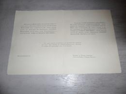 Document ( 497 ) Faire - Part Huwelijk  Rollier / Vercauteren / Drubbel / D' Hollander - Denderleeuw Gand Oostacker 1934 - Mariage