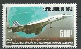 "Mali Aerien YT 534 (PA) "" Concorde En Vol "" 1988 Neuf** - Mali (1959-...)"