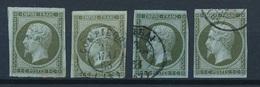 N-212: FRANCE: Lot Avec N°11 2ème Choix Assez Beau D'aspect - 1853-1860 Napoléon III