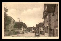 67 - ILLKIRCH - ROUTE DE LYON - PUBLICITE AUTOMOBILES MATHIS SUR UN MUR - France