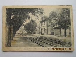 CPA 51 Vers Reims - La Gare De WARMERIVILLE - édit. Allemande  Postkartenfolge N:44 Militäramtlich Genehmigt. - Reims