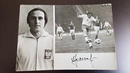 Poland - Jan Domarski - Soccer - Football - 1970s  Postcard - Fussball