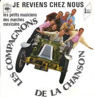 """Les Compagnons De La Chanson  """"  Je Reviens Chez Nous  """" - Vinyles"""