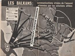 TRACT 39/45 - CARTE DES BALKANS - Historische Documenten