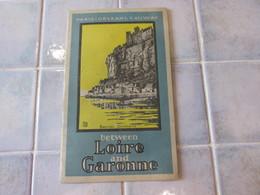 Paris Orleans Railway Loire And Garonne  1928 - Dépliants Touristiques