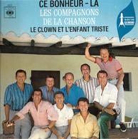 """Les Compagnons De La Chanson  """"  Ce Bonheur - Là  """" - Vinyles"""