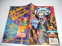 X-Force N°57 . Mr . Sinister / X - Man / Onslaught X - Over - Marvel 1996 EN V O - Zeitschriften