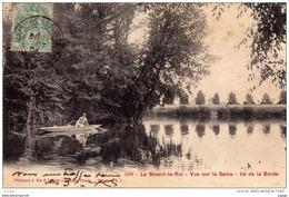 LE MESNIL-LE-ROI   Vue Sur La Seine. Ile De La Borde Carte écrite En 1904 - Frankreich