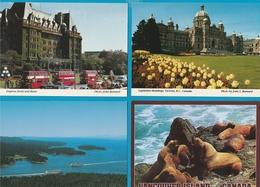 DE WERELD Lot Van 60 Postkaarten, Cartes Postales - Postkaarten