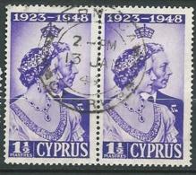Chypre   - Yvert N°   149  Paire Oblitéré     -  Ai 27132 - Cyprus (...-1960)