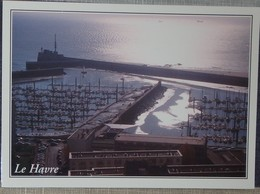 76 Seine Maritime CPM  Le Havre Le Port De Plaisance Vu Du Haut De La Tour De L'église St Joseph - Port