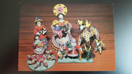 Clay Toys From Dymkovo - Ocarina - OLD  Postcard 1983 - Jeux Et Jouets