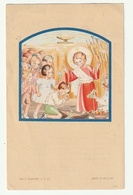Eerste Communie Hugo PAEPEN Parochiale Kerk O.L. Vrouw Bouwel 1952 Imalit Maredret A.P. 57 - Images Religieuses