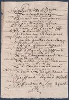 Manuscrit De 1659.Champigny-sur-Veude.Belle Calligraphie à Déchiffrer. - Manuscrits