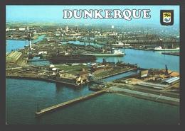 Dunkerque - Vue Générale En Avion Sur Le Port Autonome - Haven/ Hafen / Harbour - Dunkerque