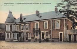 60 - Oise / 10487 - Lagny Le Sec - Ferme De Chantemerle - Belle Carte Toilée Et Colorisée - Frankreich