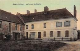 60 - Oise / 10501 - Lagny Le Sec - La Ferme De Meslin - Belle Carte Toilée Et Colorisée - Frankreich