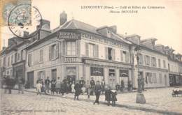 60 - Oise / 10527 - Liancourt - Café Et Hôtel Du Commerce - Beau Cliché Animé - Autres Communes