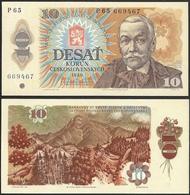 CZECHOSLOVAKIA - 10 Korun 1986 P# 94 - Edelweiss Coins - Czechoslovakia