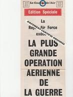TRACT 39/45 - LA R.A.F. EXECUTE LA PLUS GRANDE OPERATION AVEC PLUS DE 1000 BOMBARDIERS - Documenti Storici