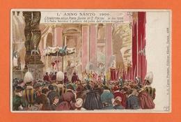 L'ANNO SANTO 1900,  L'Apertura Della Porta Santa In S. Pietro 24 Dic. 1899 - Vatican