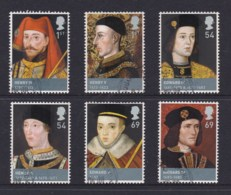 Great Britain 2008 Kings & Queens - Lancaster & York Set Of 6 CTO - 1952-.... (Elizabeth II)