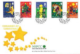 Christmas, Noël, Weihnachten, Jul, Navidad 2000 - Isle Of Man - FDC - Isla De Man