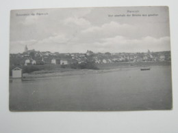 REMICH   ,  Carte Postale   1912 - Remich