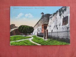 Moat Of Cabanas  Has Stamp & Cancel Havana Cuba  Ref 3092 - Cuba