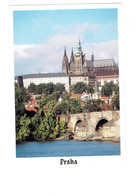 Cpm - Pologne - Praha - Château De Prague - Travaux échafaudage - 1993 - Pologne