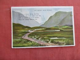 An Irish Bog Road    Ref 3092 - Ireland