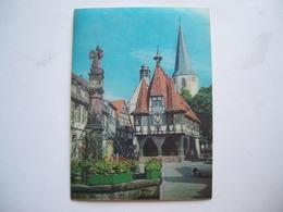 1969 - Michelstadt - Das Herz Des Odenwaldes Historisches Rathaus - Cartolina 3D Stereoscopica - Cartes Stéréoscopiques