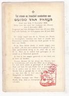DP Kind - Guido Van Parys 13j. ° 1919 † 1933 / OLV Ten Bosch Koningshof Schoten - Images Religieuses