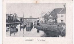 PONT DU CANAL - Anderlecht