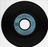 """Sting 45t. SP """" Love Is The Seventh Wave"""" - Vinyles"""