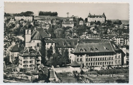 1947 Fribourg - Collége St. Miechel & Gambach - FR Fribourg