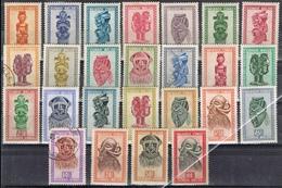 DO 6574 LOT BELGISCH CONGO SCHARNIER + GESTEMPELD ZIE SCAN - Timbres