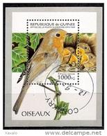 Republic Of Guinea 1995 - Bird Block Used - República De Guinea (1958-...)
