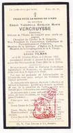 DP Senator Edgar Th. Vercruysse ° Sint-Niklaas 1864 † Antwerpen 1922 X Louisa Tilman - Images Religieuses