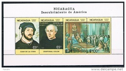 Nicaragua 1986 - Mint The 500th Anniversary Of The Discovery Of America - Nicaragua