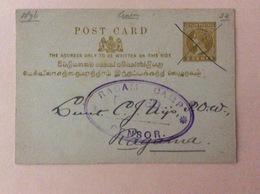 1901 Ceylon RAGAM CAMP CENSOR - Sri Lanka (Ceylon)