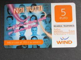 ITALIA WIND - NOI TUTTI - 31/12/2013 USATA - Schede GSM, Prepagate & Ricariche