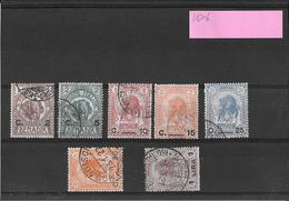 Somalia 196-7 Sovrastampati Serie Compl. 10-16 ( Ref.435) - Somalie