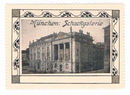 V29) München, Schackgalerie, 65 X 48 Mm, Reklamemarke, Vignette - Erinnophilie