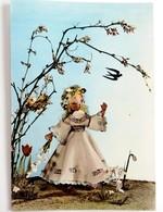 #405  Dolls Spring, Handmade Model - Used Postcard 1960's - Jeux Et Jouets