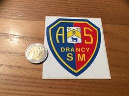 AUTOCOLLANT, Sticker «AS - DRANCY SM (93)» (sport, Blason) - Autocollants