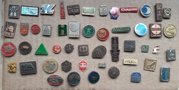 Croatia Bosnia Yugoslavia Slovenia 50 Different Pins  LOT 18 - Badges