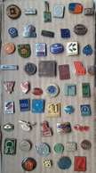 Croatia Bosnia Yugoslavia Slovenia 50 Different Pins  LOT 19 - Badges