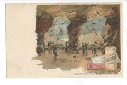 21077 -   Cacao Suchard Neuchâtel Grand Prix Paris 1900  Aquarium - Publicité